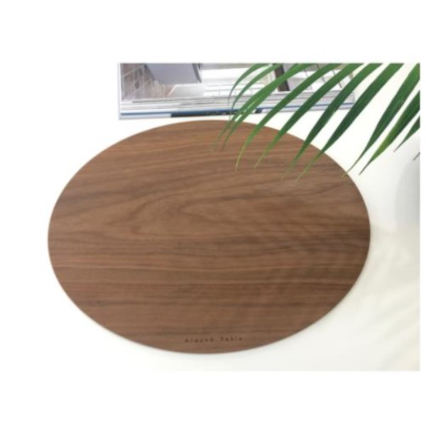 AT  Wood table mat