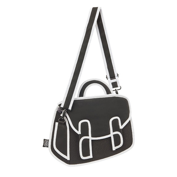 [Graffiti] Chubby Satchel  [Black]