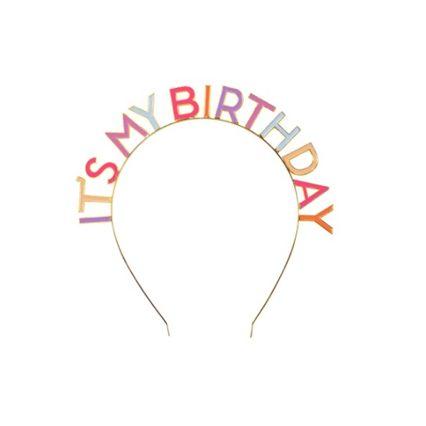 [Talking Tables] Birthday Headband_Pink